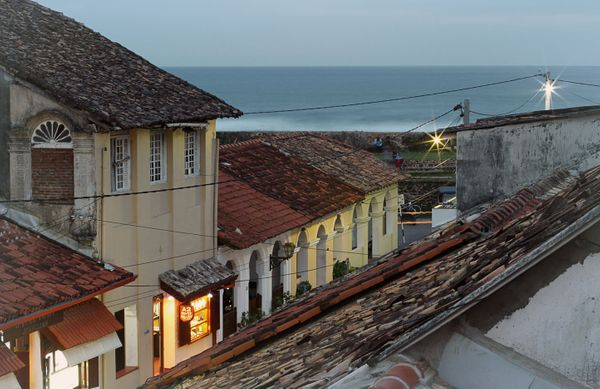 A Glimpse of Europe in Galle