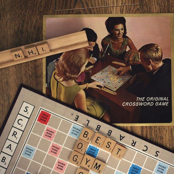 Scrabble,  U.S. Vintage Crossword Game, back in 1953