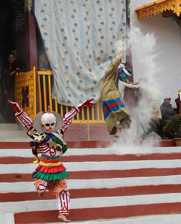 Monastic Dances at the Pemayangtse Monastery